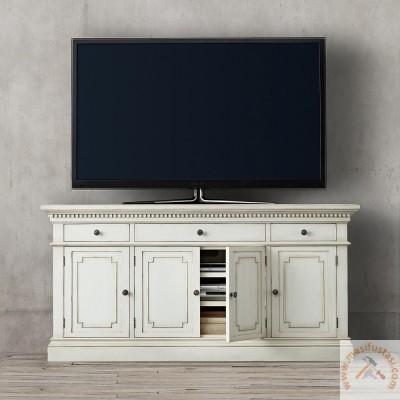 Nihal Beyaz Mermer Tablalı Yuvarlak Yemek Masası