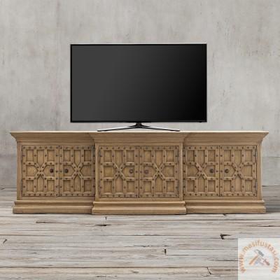 Area Siyah Renkli Eskitme Mutfak Yemek Masası