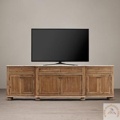 Anka Dikdörtgen Beyaz Renkli Ahşap Duvar Aynası