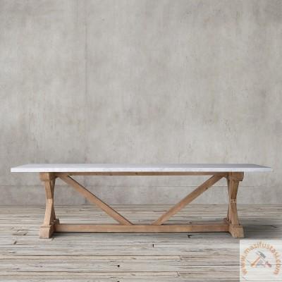 Beyaz Renkli Ahşap Kitaplık