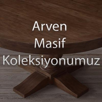 Kastor Açık Ceviz Renk Büyük Boy Masif TV Sehpası